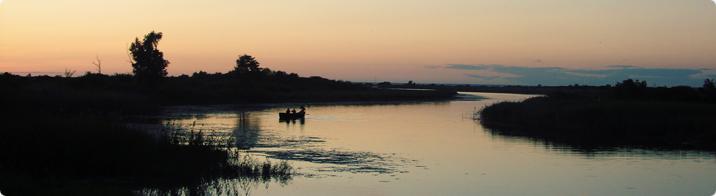 Fishermen on Võhandu river / Sigrid Sibul