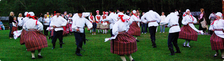 Folk dancing / Airi Purge