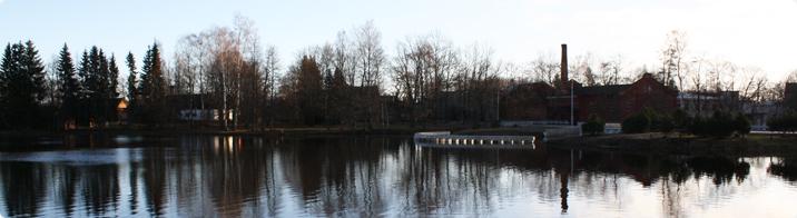 Historical complex of Räpina Paper Mill / Sigrid Sibul