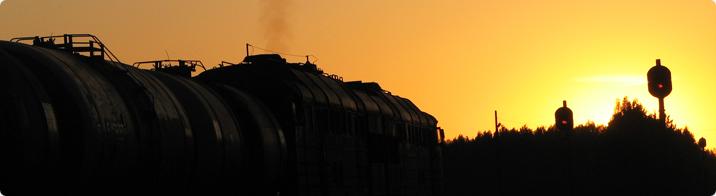 Freight train on Tartu-Koidula railway line / Sigrid Sibul